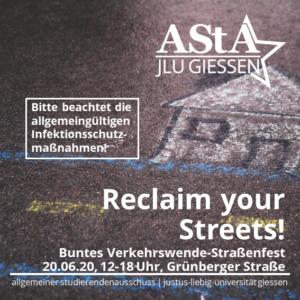 Corona-kompatible Versammlung - Verkehrswende: RegioTram in der Grünberger Straße @ Gießen, Berliner Platz bis Licher Gabel