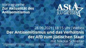 Der Antisemitismus und das Verhältnis der AfD zum jüdischen Staat